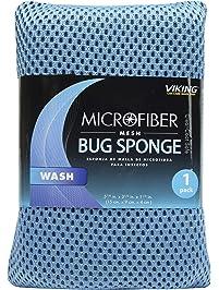 Viking 845100 Microfiber Mesh Bug and Tar Sponge (Colors May Vary)