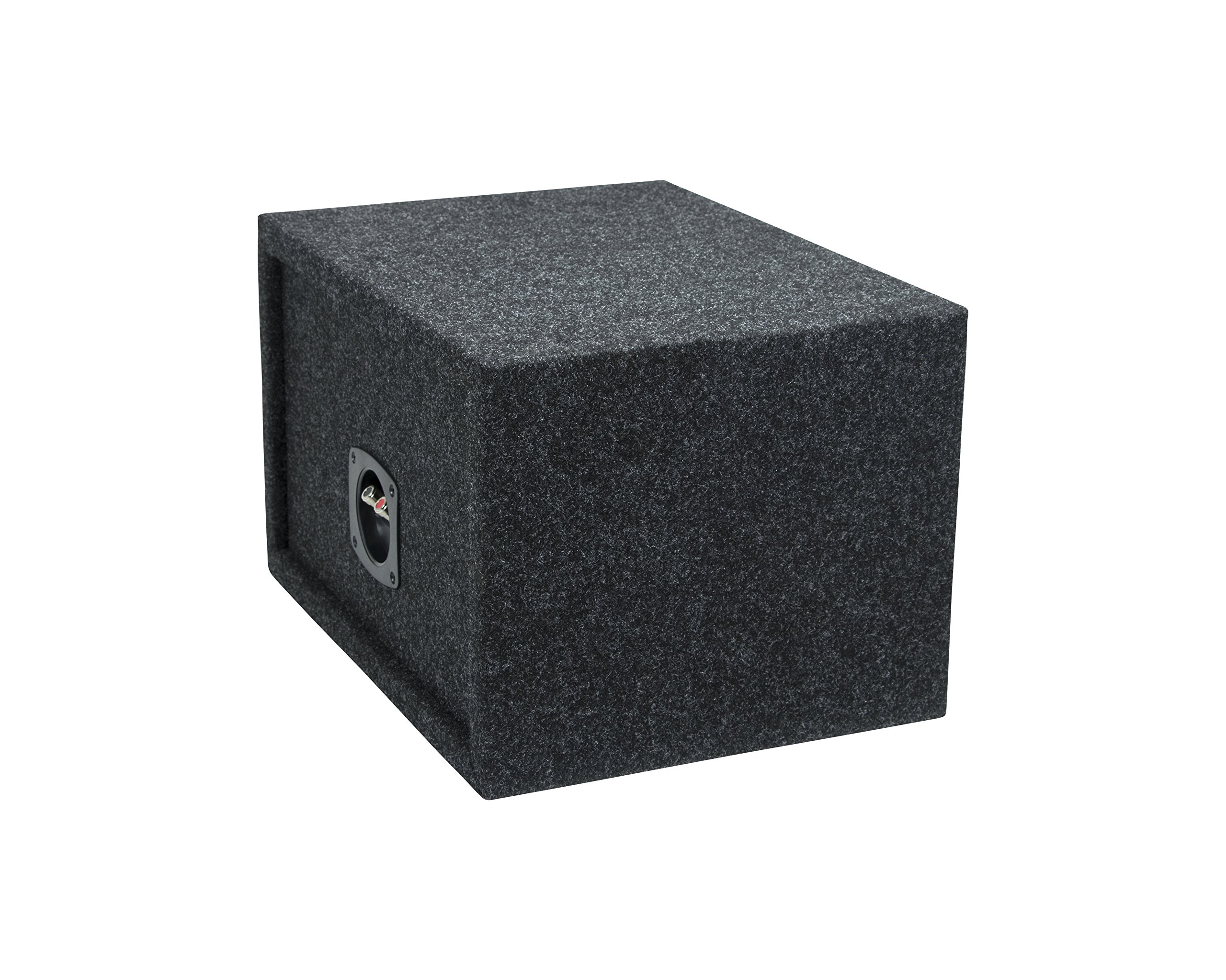 3//4 Premium MDF Construction Made in USA JL Audio 8W3v3 Subwoofer Sealed Box Enclosure 0.30 Cubic Feet Sealed Built for Single JL Audio 8 W3v3 Car Sub Woofer 10 W x 10 H x 9.5 D