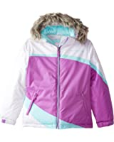 Free Country Girls' Color-Block Heavyweight Coat