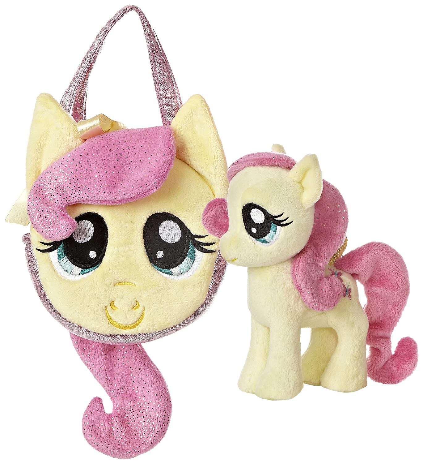 My Little Pony Friendship is Magic Pony Tail Carrier Purse Fluttershy