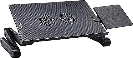 AmazonBasics - Soporte portátil y ajustable de aluminio para ...