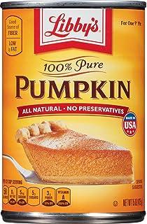 Libbys 100% Pure Pumpkin, 15 Ounce
