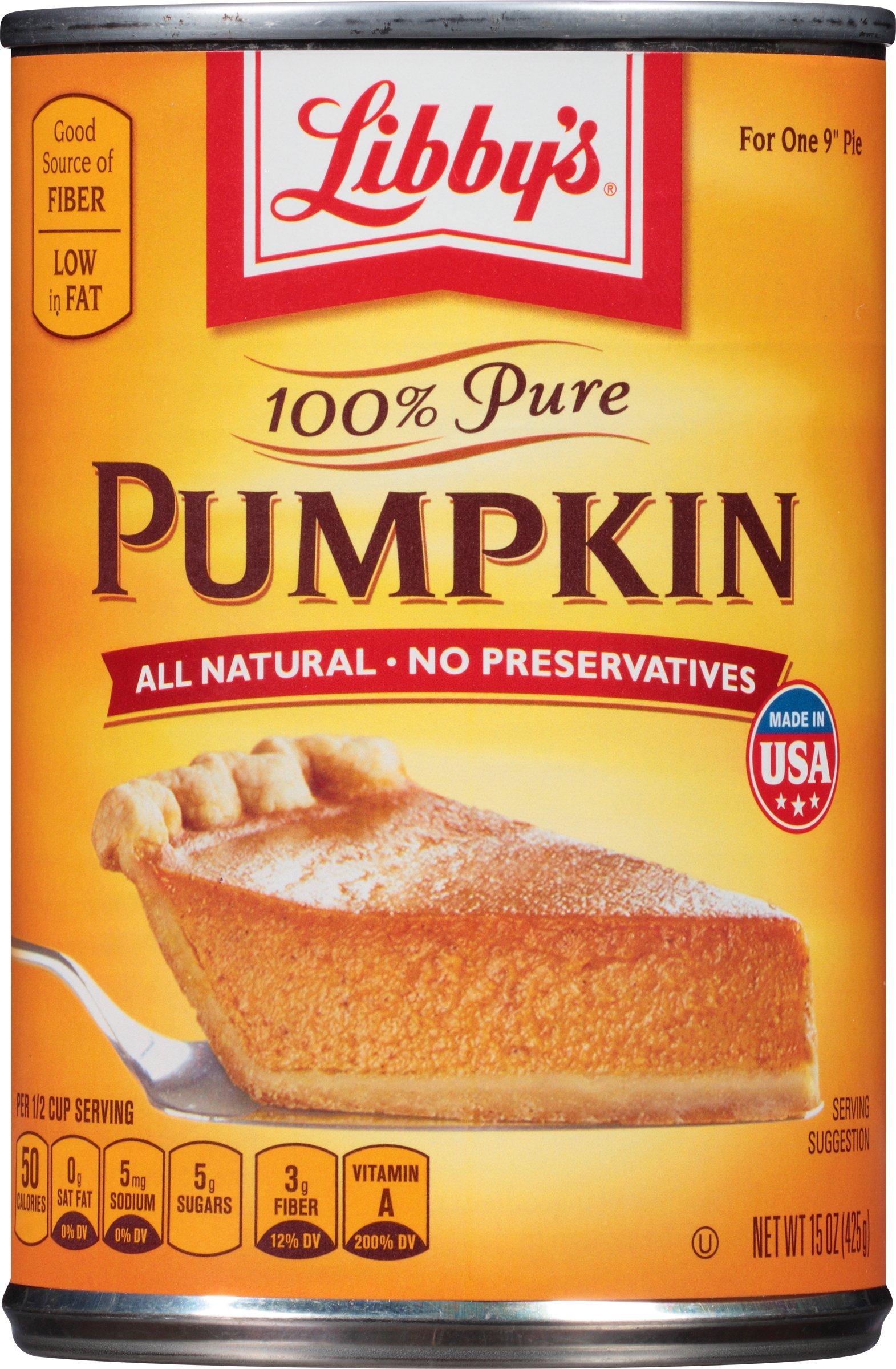 Libby's 100% Pure Pumpkin, 15 Ounce by Libby's