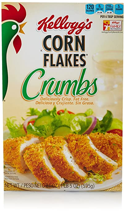 Corn Flakes Kellogg's Corn Flake Crumbs, 21 Ounce