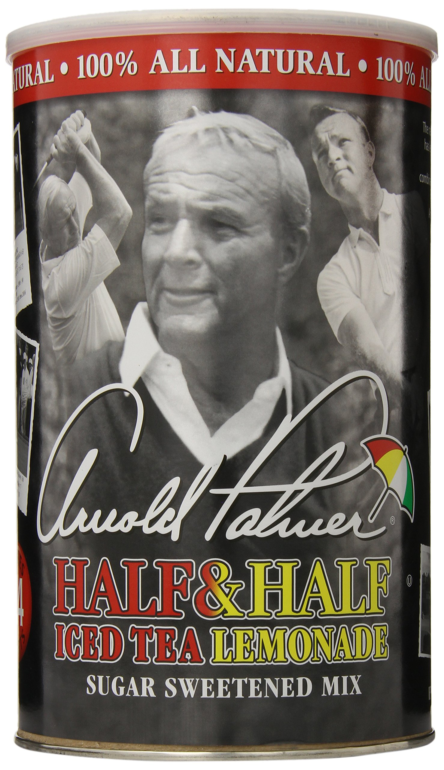 Arnold Palmer Half & Half Ice Tea Lemonade Makes 24 Quart Drink Mix Arizona Tea by AriZona (Image #1)