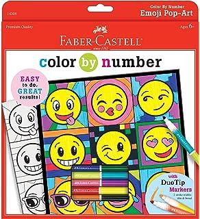 Amazon.com: Faber-Castell - Color by Number 3D Elephants - Premium ...