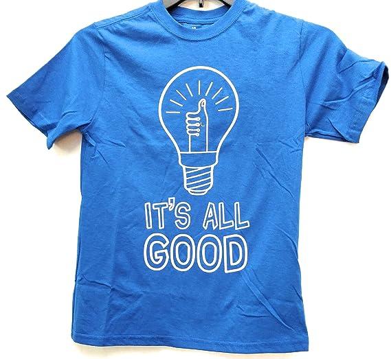 a555e5dcf Amazon.com: Walmart It's All Good Boys t-Shirt, Med: Clothing
