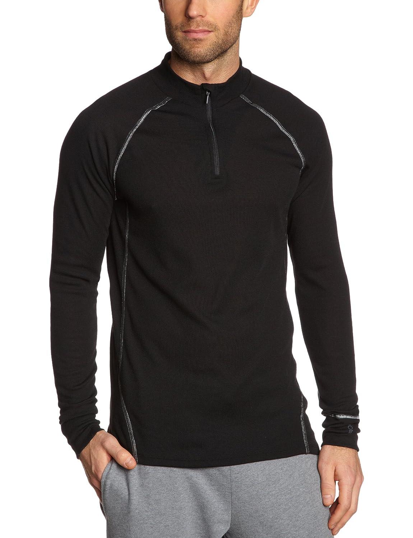 Schiesser Herren Unterhemd Shirt 1/1 Arm-Zipper