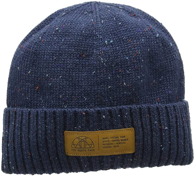 d5bca680c THE NORTH FACE Women's Around Town Beanie, Shady Blue, One Size ...