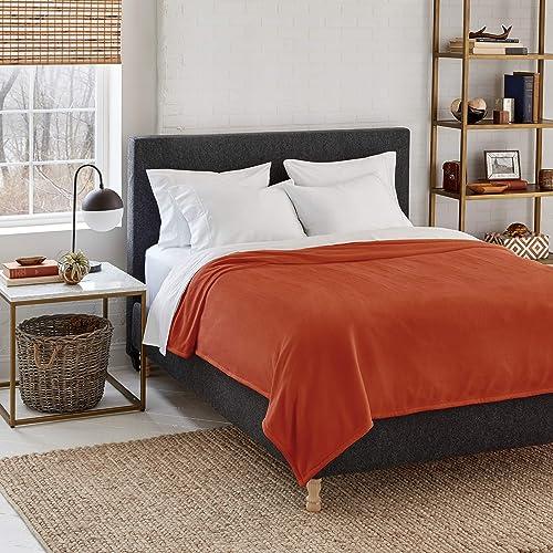 Eddie Bauer | Cabin Comfort Plush Heated Electric Warming Blanket