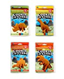 Suck UK 3D Dinosaur Cookie Cutters