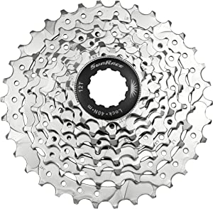 SunRace CSM66 8-Speed Nickel Plated Cassette