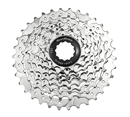 Sunrace Cassette Csm66 12-34 8 Speed Nickel Cassettes, Freewheels & Cogs