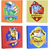 Nickelodeon Paw Patrol Square Canvas Wall Art 11 Toy (Pack of 4)