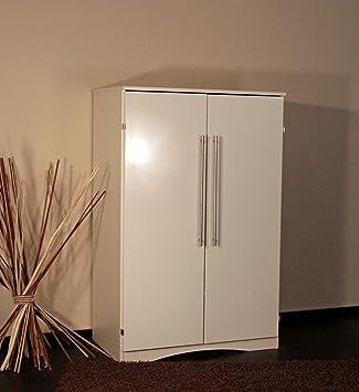 Computerschrank weiß  8055-2 - PC Schrank Computerschrank im Landhaus-Stil, in hochglanz ...