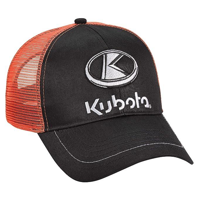 K-Products Headwear Kubota Twill Trucker Mesh Cap at Amazon Men s ... a8ab18d1c48