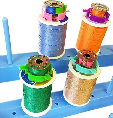 20pcs Bobbin Buddies Bobbin Holder Clamp Thread organizer Matching Thread Spools