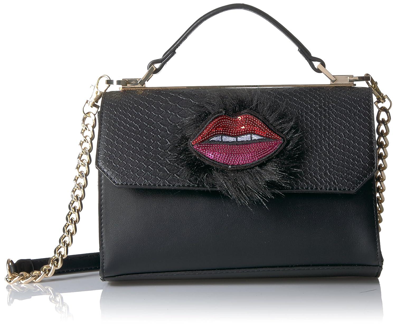 0561b773bd6 Aldo Thauma Top Handle Cross Body, Black: Handbags: Amazon.com