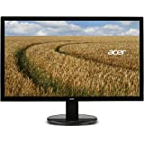 Acer K202HQL 19.5 inch Monitor (5 ms, 100M:1 Contrast Ratio, 200 Nits LED Acer EcoDisplay) - Black