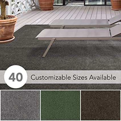 Icustomrug Affordable Indoor Outdoor Carpet With Marine Backing Many Carpet Flooring For Patio Porch Deck Boat Basement Or Garage