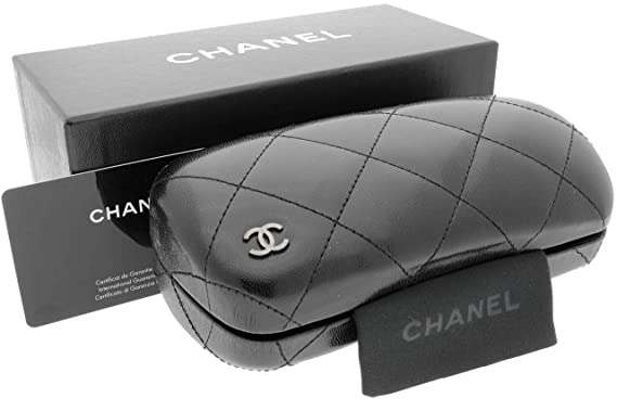 Rare Chanel Quilted Sunglasses Case Pouch Booklet Card In