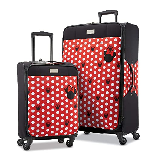 6b524674a14b American Tourister Disney Softside Luggage with Spinner Wheels
