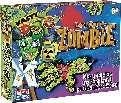 Falomir - Nasty Doc La Mano Zombi TV, Juego Creativo (25025): Amazon.es: Juguetes y juegos