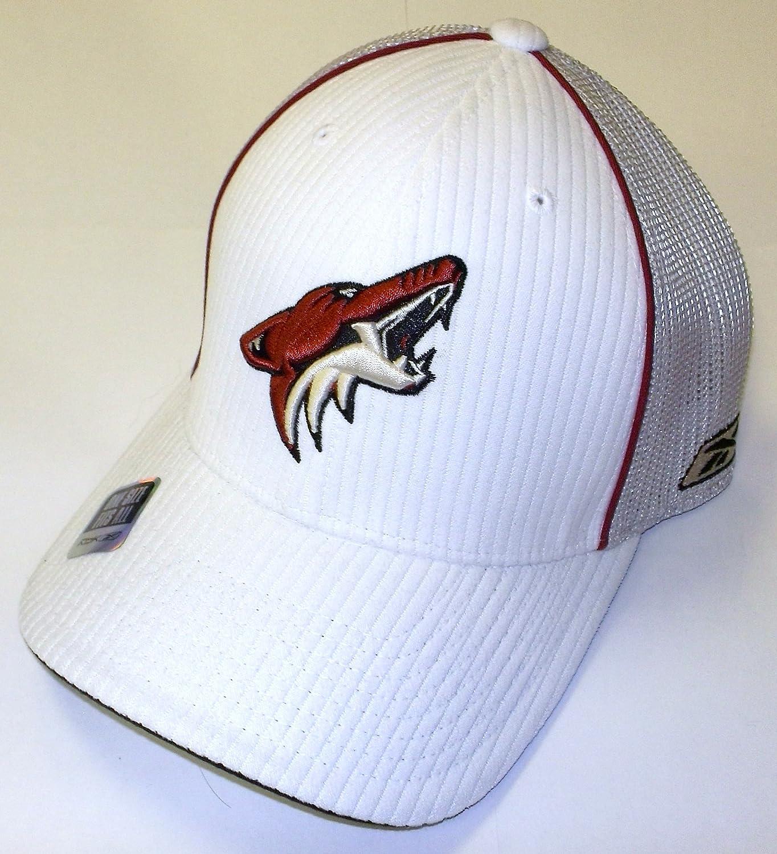 ET49Z Reebok Phoenix Coyotes Flex Fitted Hat Size L//XL