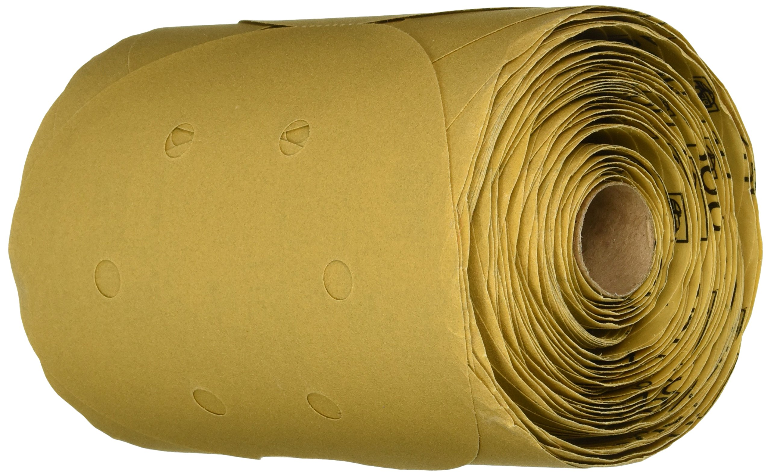 3M 01639 Stikit Gold 6'' P180A Grit Dust-Free Disc Roll
