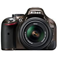 Nikon D5200 Digital SLR Camera with 18-55mm VR Lens Kit - Red (24.1MP) 3 inch LCD