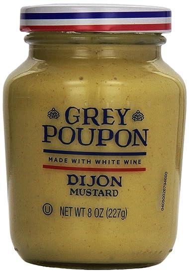 amazon com grey poupon dijon mustard 8 ounce jar prime pantry