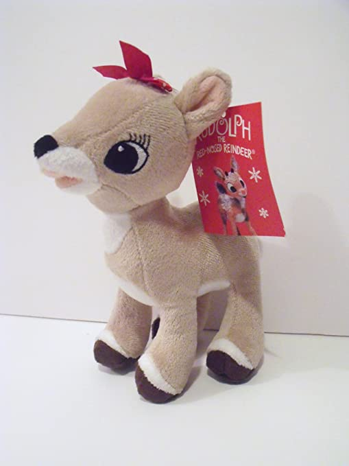 amazon com rudolph the red nosed reindeer movie plush character