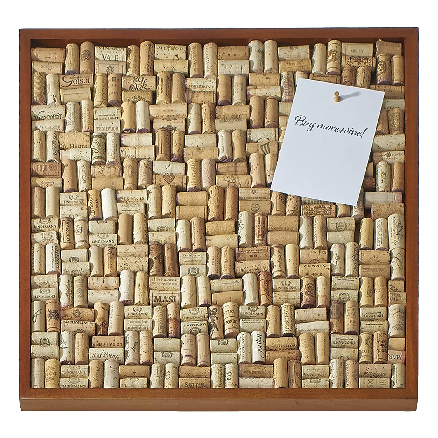 Amazoncom Wine Enthusiast Diy Wine Cork Board Frame Kit Kitchen
