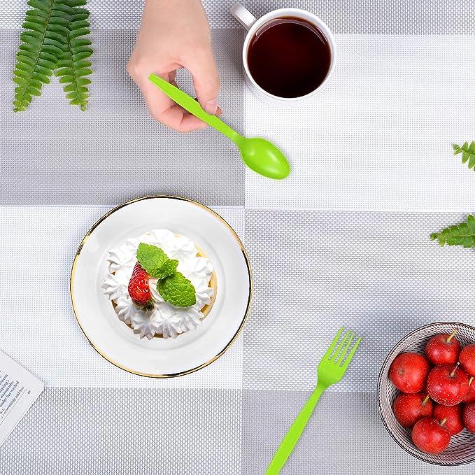 Delihom Juego de utensilios compostables - 24 piezas ...
