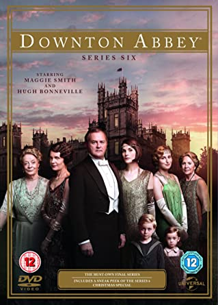 Downton Abbey Series 6 Dvd 2015 Amazoncouk Maggie