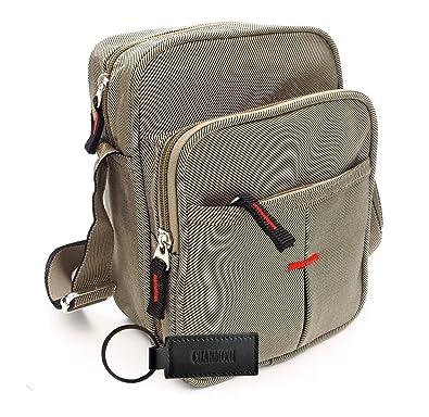 ca72e4024f Charmoni® - Sac pochette sacoche à bandoulière léger et résistant en nylon Homme  Femme (