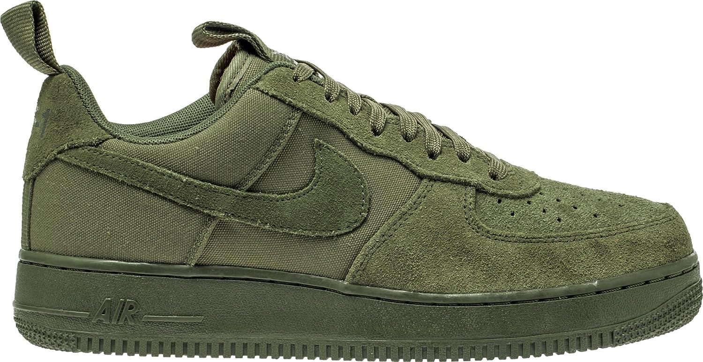 Nike Herren Air Force 1 07 Oliv Leder/Synthetik/Textil Sneaker  46 EU|Verde