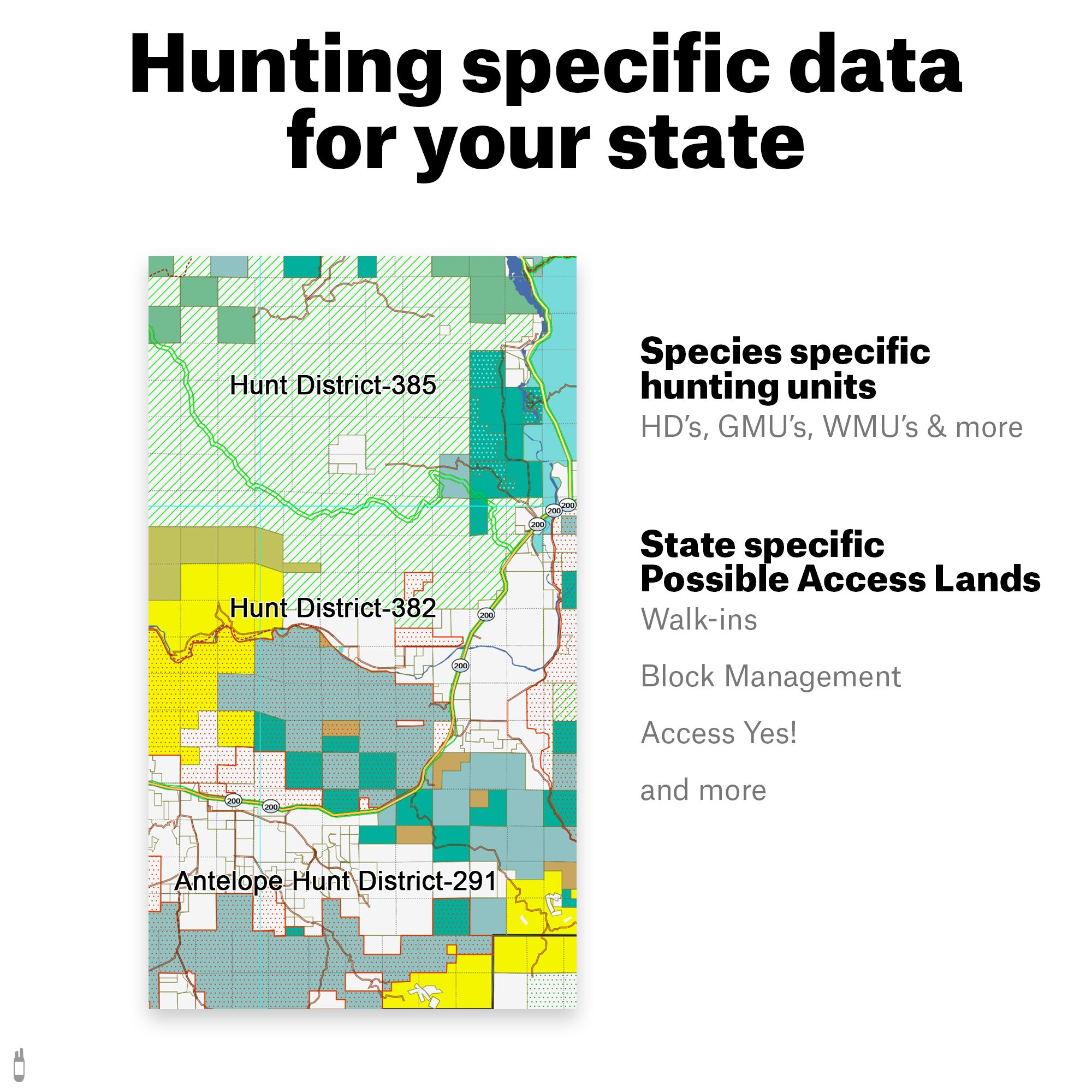 Colorado Hunting Maps: onX Hunt Chip for Garmin GPS - Public ...