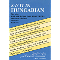 Say It in Hungarian (Dover Language Guides Say It Series)