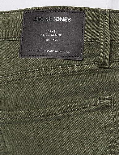 Jack /& Jones Jjiglenn Jjicon Ama Forest Night Hose para Hombre