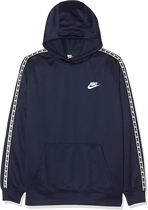 Nike B NSW Repeat Po Hood Poly Sweat Shirt Garçon