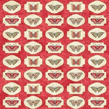 Northcott Artisan Spirit Serendipity by Karen Sikie 21871 14 Beige  Cotton Fab