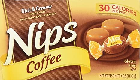 amazon com nips hard candy coffee 4 oz hard candy grocery gourmet food