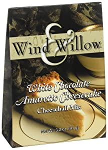 Wind & Willow White Chocolate Amaretto Cheeseball, 3.2-Ounce Boxes