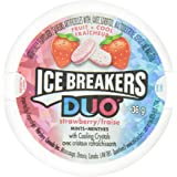 ICE BREAKERS Duo Mints, Strawberry, 6 Count