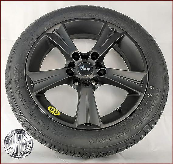 Rueda de repuesto SP155114 de aleación + neumático 155 70 R17 para Jeep Renegade: Amazon.es: Coche y moto