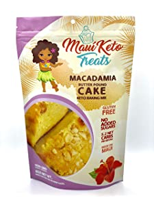 Macadamia Butter Pound Cake 8oz
