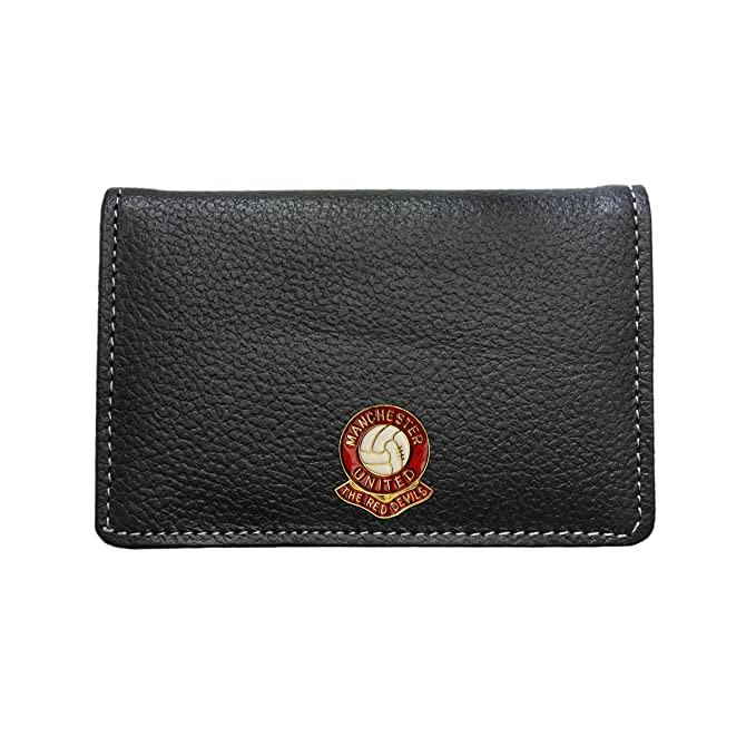 1057aab6836 Amazon.com  Manchester United football club leather card holder ...