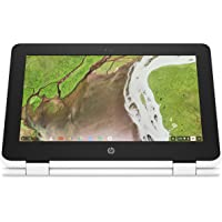 HP Chromebook x360 11-ae105nf Blanc neige (Intel Celeron, 4 Go de RAM, HD 500, Chrome OS)