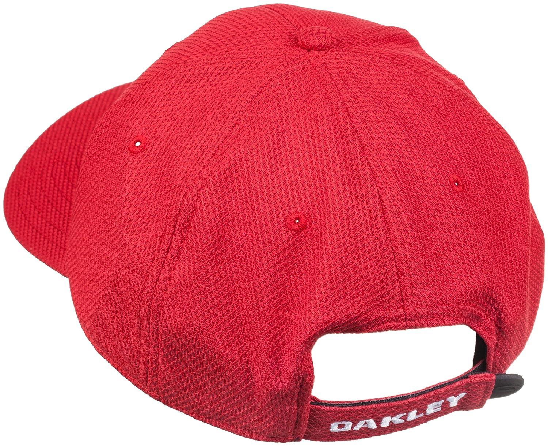 451f7144859 Oakley Golf Ellipse Cap Red Line